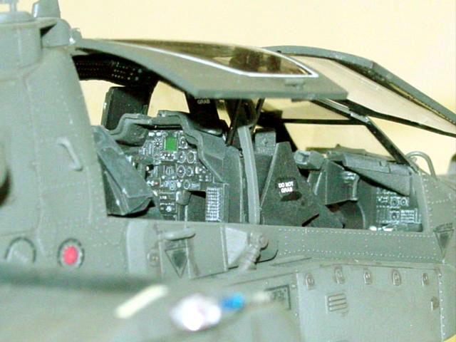 AH64A Apache by Albert Moore Hasegawa 148