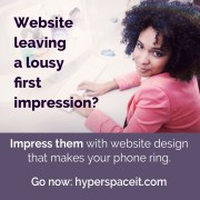Does your website design leave a lousy impression?