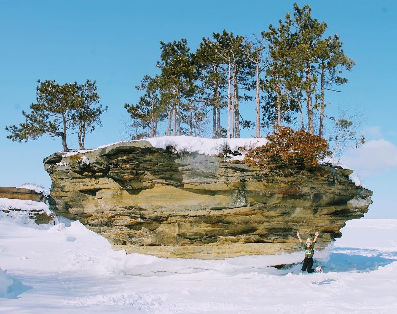 Turnip Rock Winter