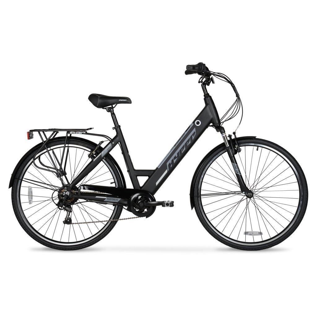 700c / 36 Volt Hyper E-Ride City Electric Black Commuter