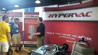 Hypervac employees at convention