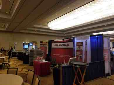 Hypervac booth las vegas NADCA convention