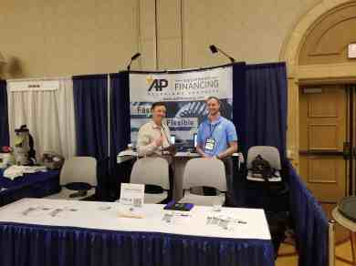 equipment financing at las vegas NADCA convention