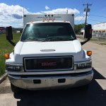 Just in Time duct truck front grill