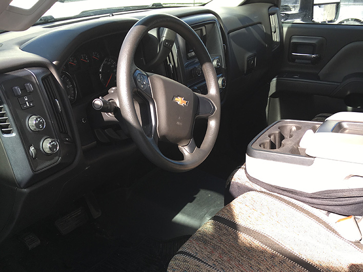 duct truck steering wheel