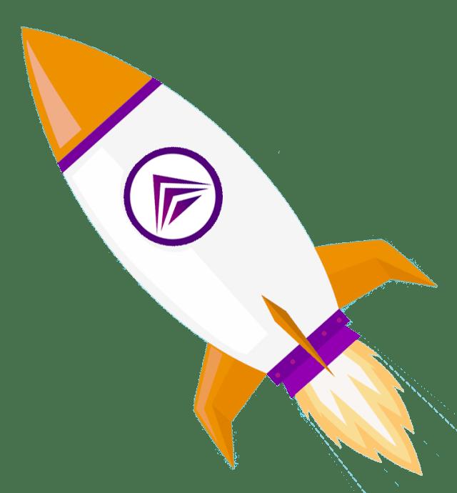 Hyperwave Marketing Rocket Ship