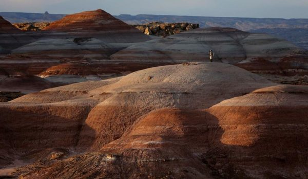 As belas e misteriosas formações rochosas do deserto parecem mesmo de outro planeta