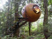 Mais Impressionantes Casas Em Rvores