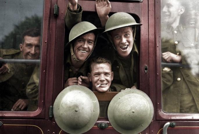 Soldados britânicos em 1939