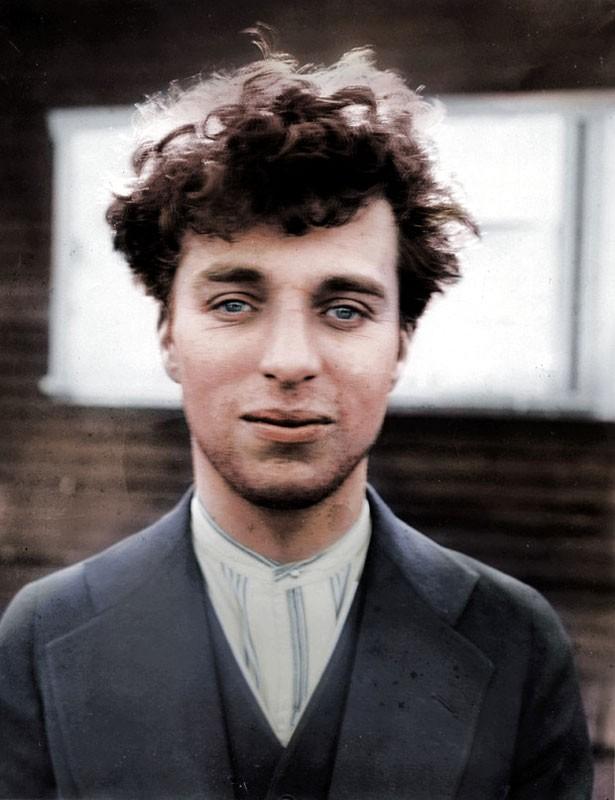 Charlie Chaplin com 27 anos, 1916