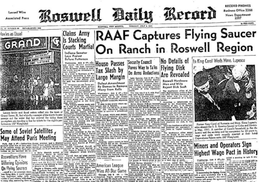 dice complotto UFO e nazisti 1