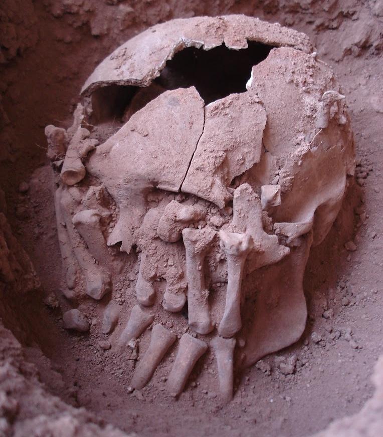 Decapitação 9000 anos brasil