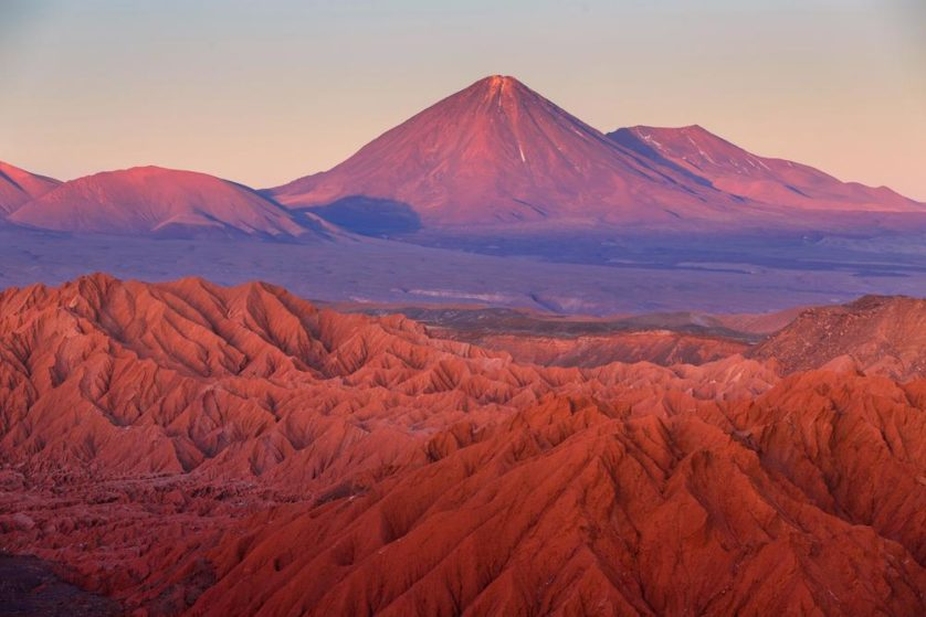 El Tatio nel deserto di Atacama, assomiglia molto a Mars
