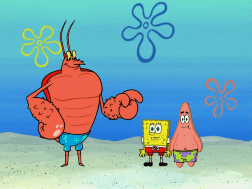 Larry_the_Lobster_in_A_Day_in_a_Life-40