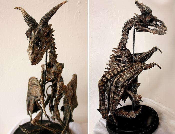 esqueletos criaturas fantasticas esculturas alex cf (10)