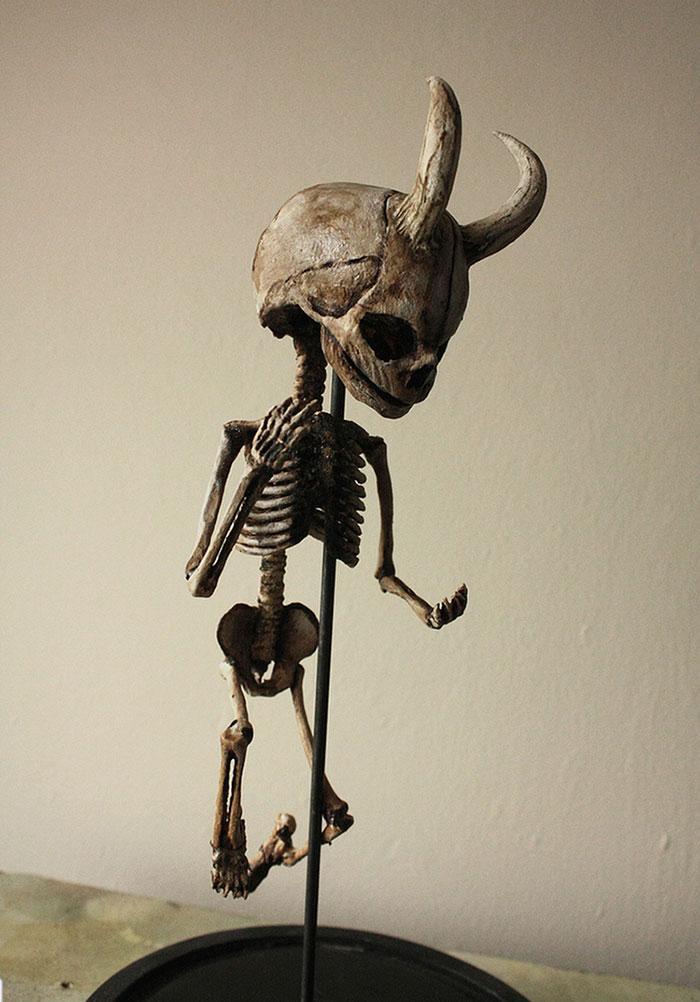 esqueletos criaturas fantasticas esculturas alex cf (7)