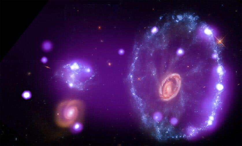 Galáxia Cartwheel (Galáxia Estrelinha)