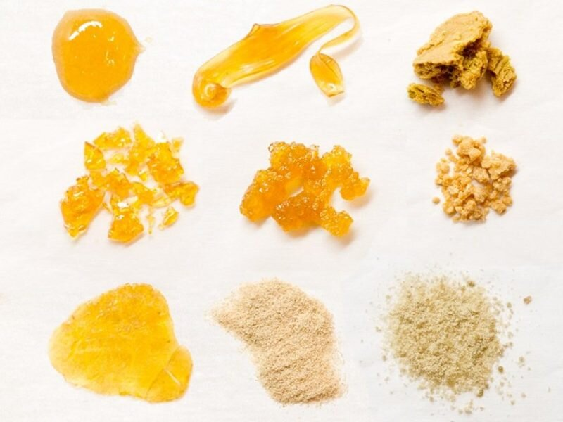 Different Types of Marijuana Concentrates