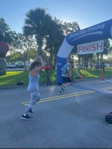 devil dog 5k finish line