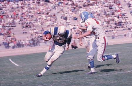 1961 Afl Championship Houston Oilers At San Diego Chargers