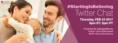 #StartingIsBelieving Florida Prepaid Twitter Chat