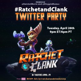 Ratchet and Clank Twitter Partry