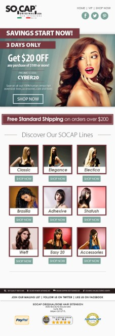 SoCap-3-Day-Sale-November-Email-Template