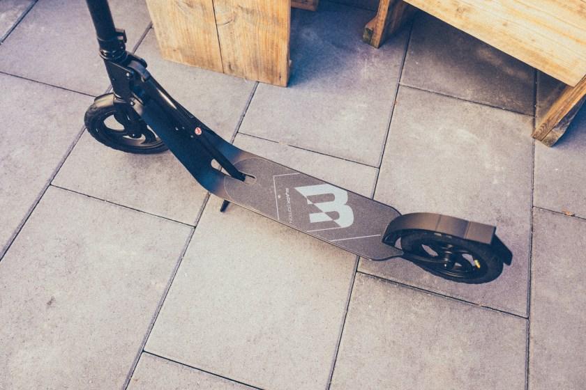 HUDORA BigWheel Air Black Edition Roller Scooter