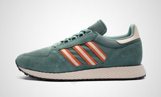 Forest Grove (grün / orange) Sneaker