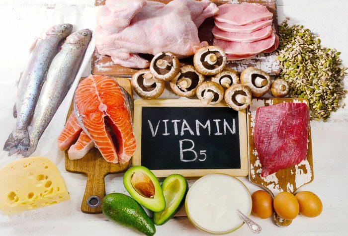 Vitamina B5, útil para convertir los alimentos en energía - Hyphadiet