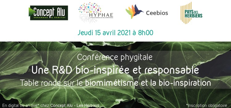 Conférence Hyphae –  Innovation durable en R&D – 15 Avril 2021 – Reporté