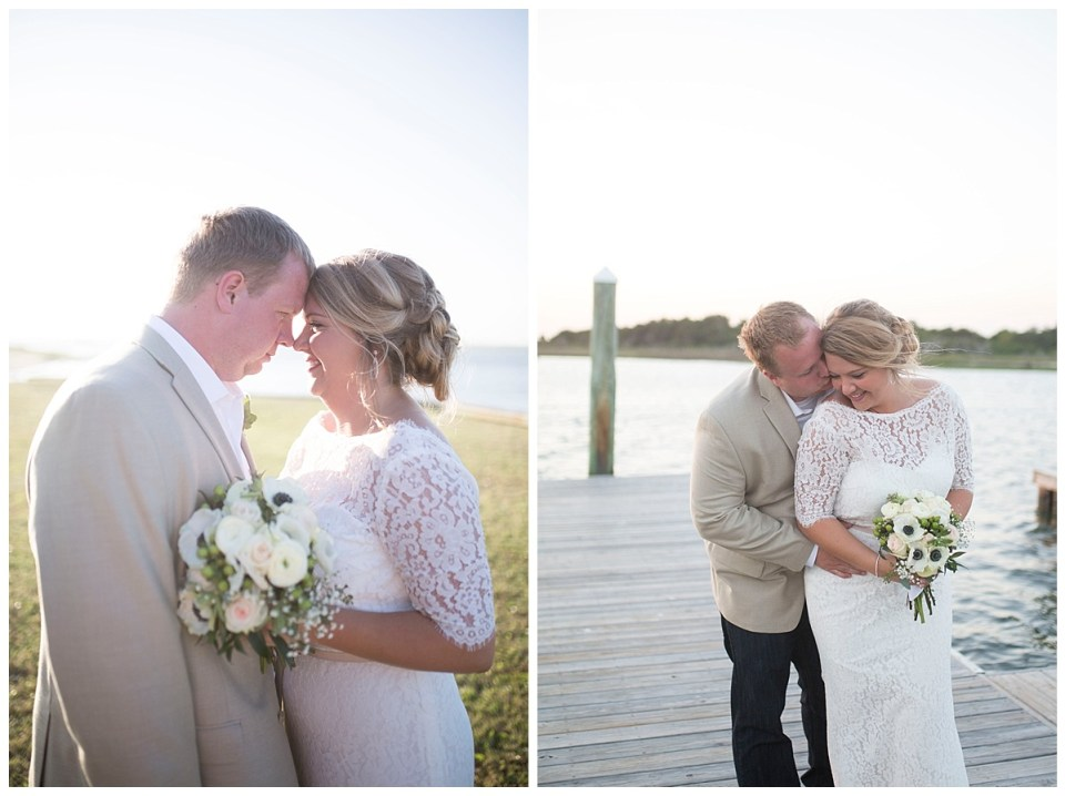 Jamie & John Harris Wedding at Oak Island, NC