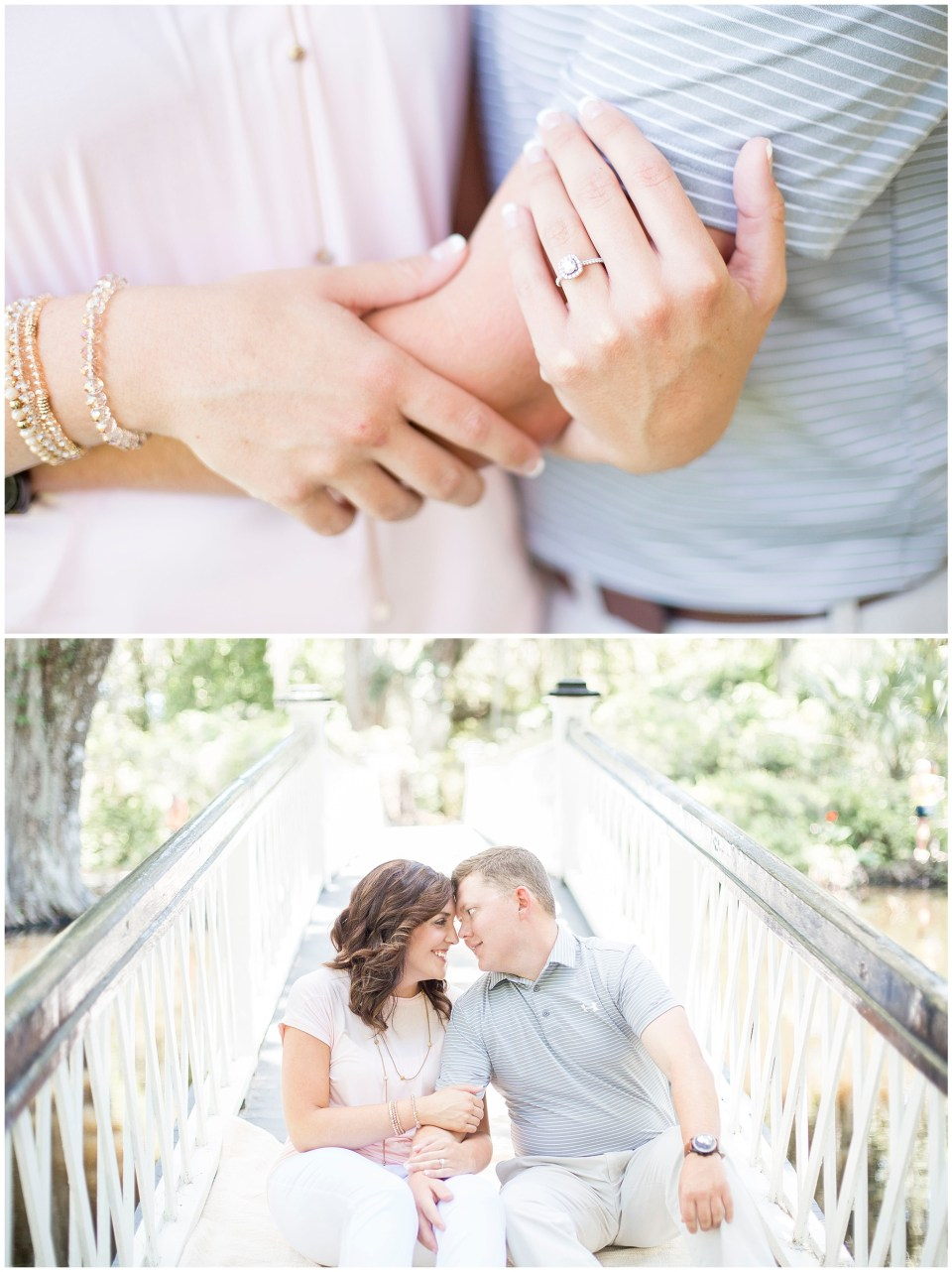 magnolia plantation and gardens engagement session in charleston sc by HYPimages