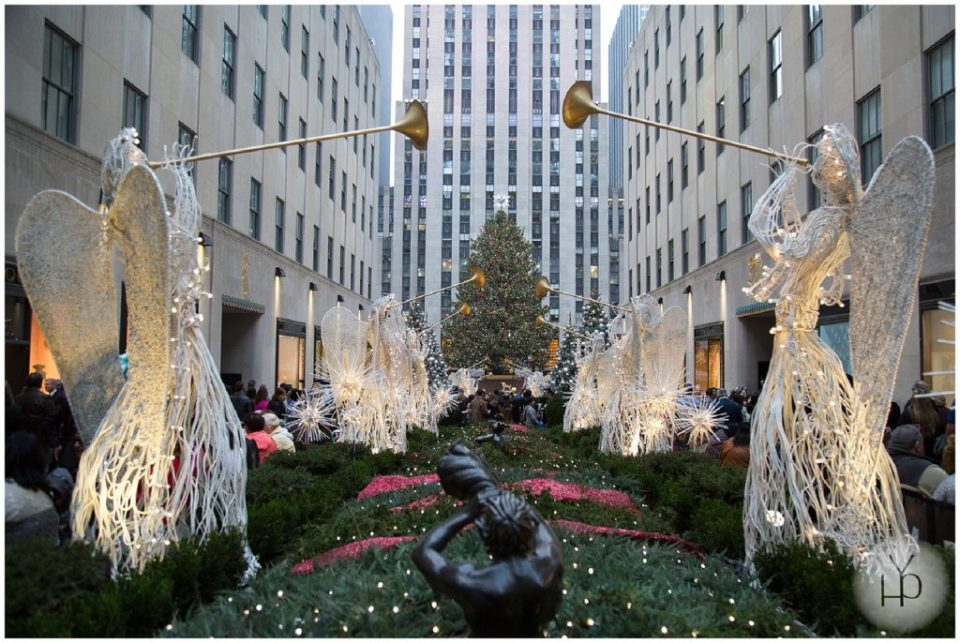 new york city Rockefeller Christmas Tree
