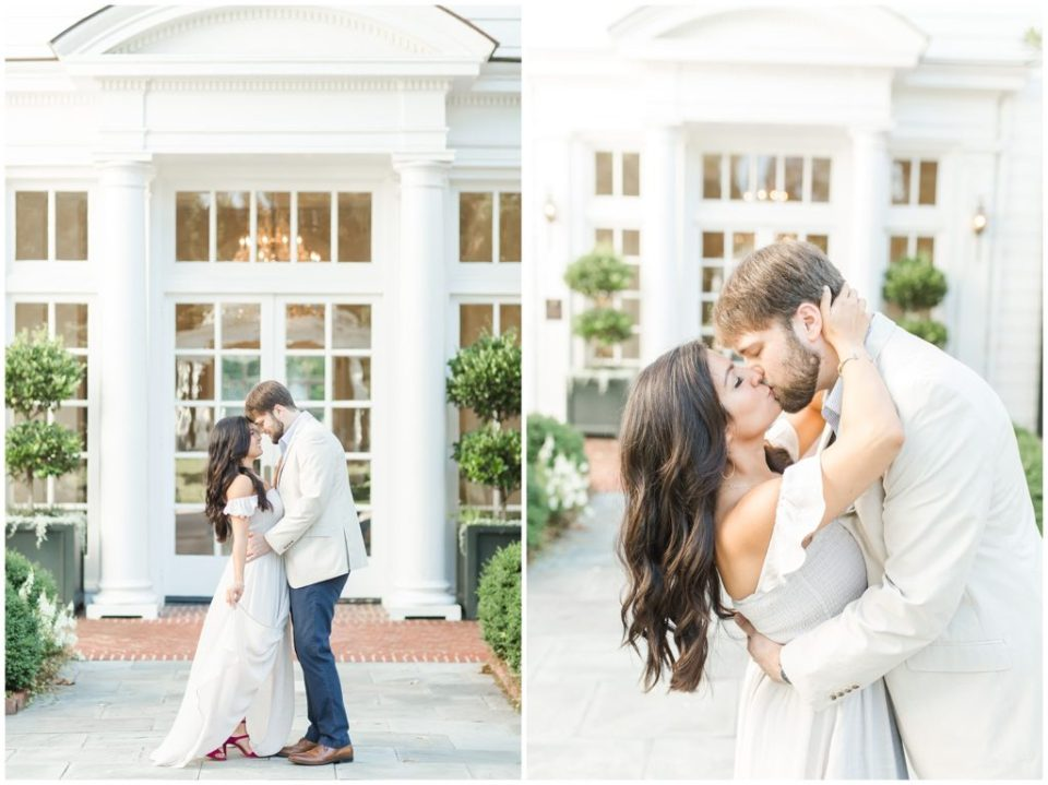 dreamy sunrise engagement session at duke mansion hypimages