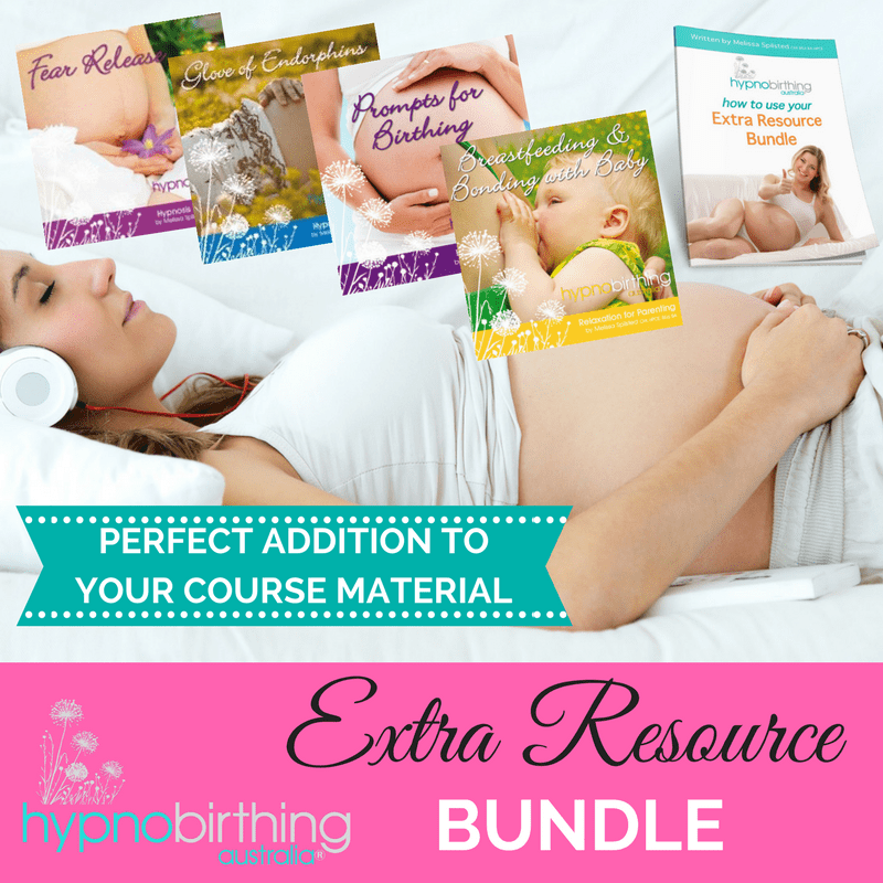Hypnobirthing Extra Resource Bundle