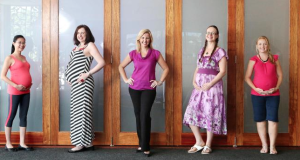 Melissa Spilsted with Hypnobirthing Australia Course Participants (Caesarean Birth Program)