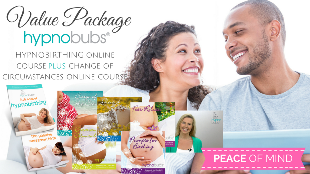 Hypnobubs Hypnobirthing Online Course (Value Package)