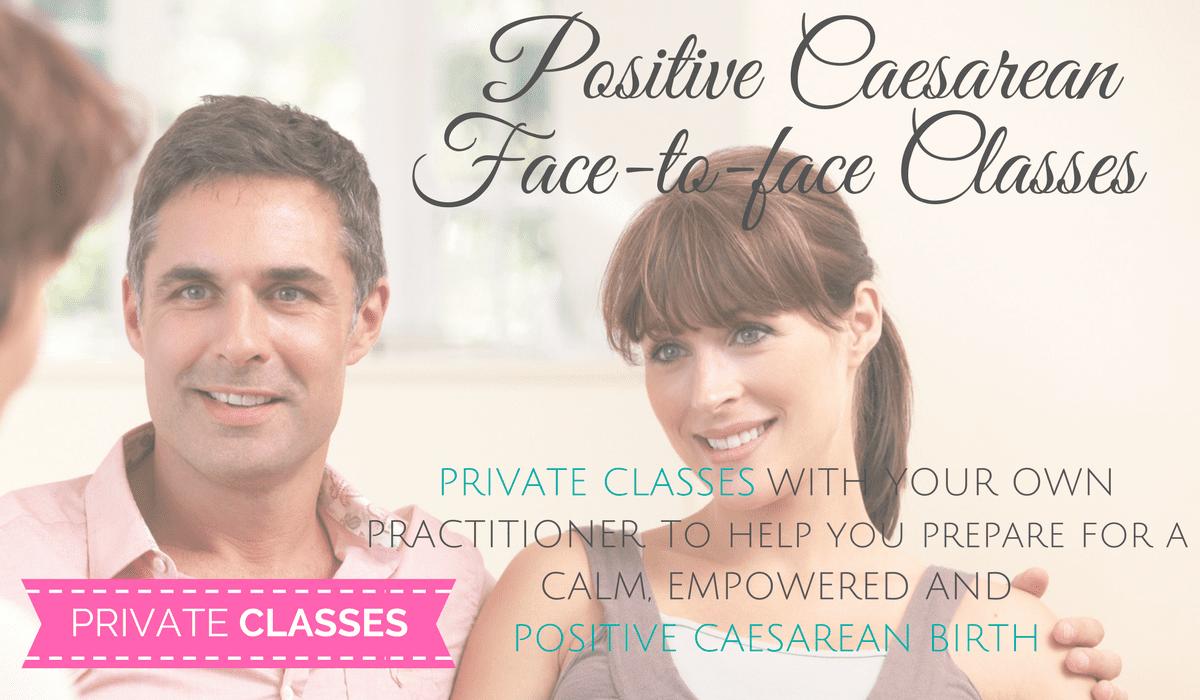 Positive Cesarean Face-to-Face Classes