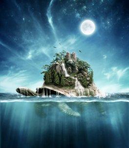 turtle_island_by_rowye-d7zn7ql