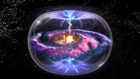Les trous noirs au cœur de tout : galaxies, étoiles, atomes... nous ?