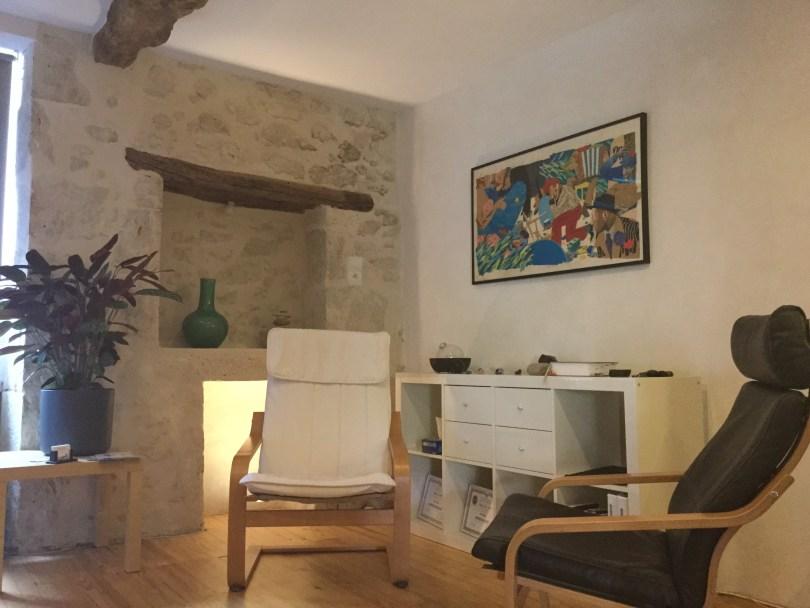Le cabinet d'Hypnose thérapeutique dans lequel vous recevra l'hypnothérapeute Pierre-Yves SARRAT, à Auch, dans le Gers.