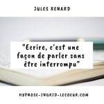 écrire citation