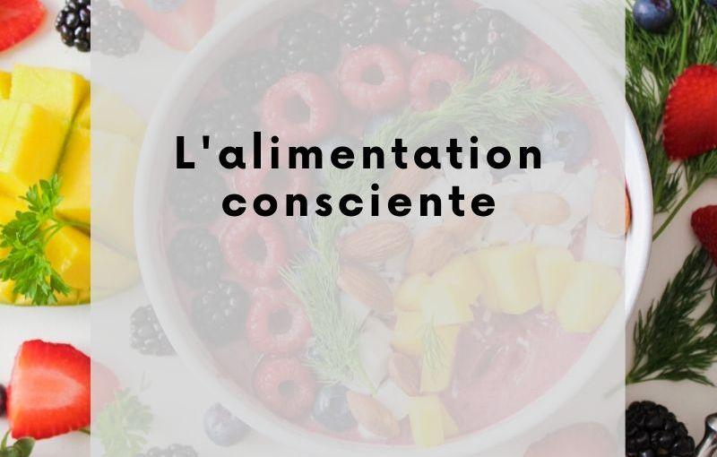 Alimentation consciente et perte de poids