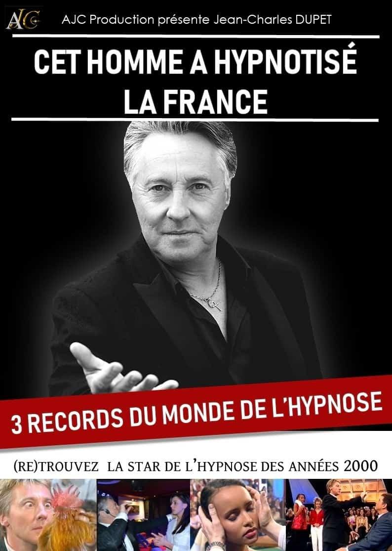 Jean-Charles Dupet | Hypnotiseur et mentaliste