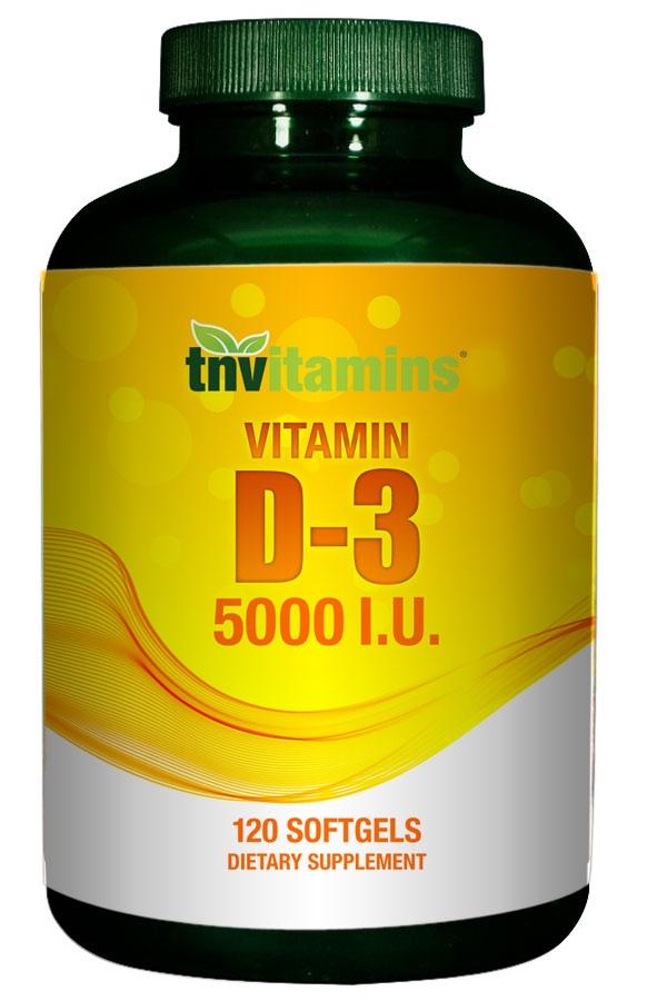 Vitamin D3 5000 IU - AHCENTER