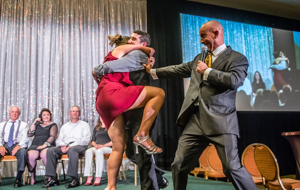 Heroes and Villains Corporate Party Hypnotist Show  Video