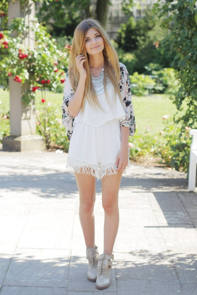 Sommer Outfit Jumpsuit Kimono 1
