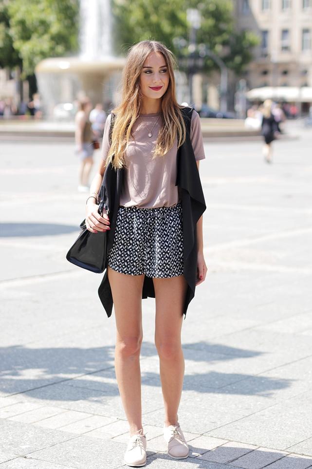Wasserfallweste Outfit Blog 1