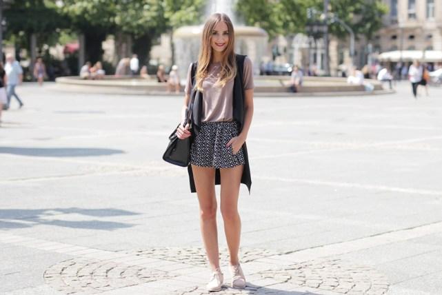 Wasserfallweste Outfit Blog 7